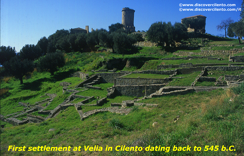 First settlement at Elea Velia in Cilento National Park